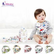 <b>BABY BIBS</b> triangle Cotton Bibs <b>Burp</b> Cloths Cartoon <b>Child Bib</b> ...