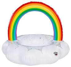 <b>Надувной круг BigMouth Rainbow</b> Cloud BMPF-0012