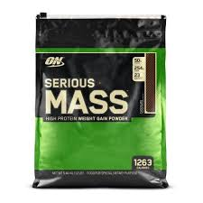 ON <b>Serious Mass High Protein</b> Gain Powder, Packaging Size: 12 ...