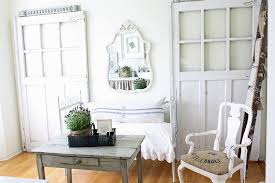 eclectic home office with shabby chic overtones from french larkspur chic vintage home office