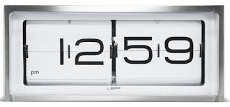 leff amsterdam brick deskwall clock modern clocks brick desk wall clock