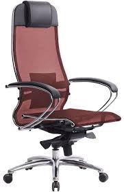 Эргономичное офисное <b>кресло МЕТТА Samurai</b> S-1 (Чёрный ...