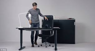 the bekant can operate as a traditional seated desk bekant desk sit stand ikea