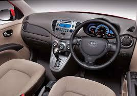 Hyundai i10 interior picture