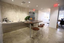 paltry office pantries give way to sleek social spaces building office pantry