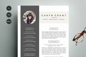 resume templates that look great in creative market blog resume template 4 pack cv template