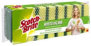 <b>Набор губок</b> для посуды <b>Scotch</b>-<b>Brite Интенсив</b> 8 шт. — купить по ...