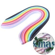 <b>260Pcs</b> Stripes Quilling Paper Mixed Color 3/5/7/10mm Width ...