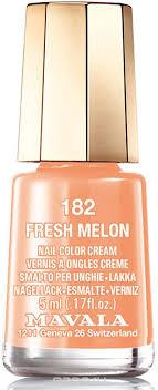 Mavala <b>Лак для ногтей</b> Свежая дыня/<b>Fresh</b> melon , Тон 182, 5 мл ...