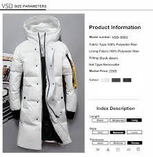 VSD <b>2019 Fashion Winter</b> New <b>Jacket</b> Men Warm <b>Coat</b> Parka Long ...