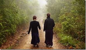 Image result for six syllable mantra and walking meditation