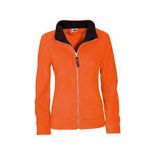 """Товар <b>Куртка флисовая</b> """"Nashville"""" <b>женская</b>, оранжевый/черный ..."""