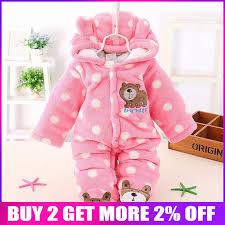 <b>BibiCola Winter</b> Newborn Baby <b>Girls Boys</b> Clothes Infant Warm ...