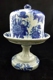 paint bedroom photos baadb w h: bombay co ceramic flow blue and white footed cheese dish quot ebay