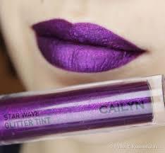 Матовый <b>тинт</b> с <b>глиттером</b> Cailyn Star wave glitter tint 06 Libra ...