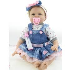 22inch 55cm Reborn Dolls <b>NPK Handmade</b> Lifelike Newborn Baby ...