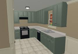modern elegant design of the kitchen room paint colors that has grey cabinet make it seems nice with cream modern ceramics tile inside the modern kitchen