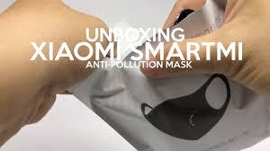 Unboxing Xiaomi <b>Smartmi</b> Anti-Pollution <b>Mask</b> PM 2.5 - YouTube