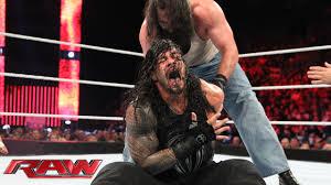 Roman Reigns vs. Luke Harper: Raw, July 20, 2015 - YouTube