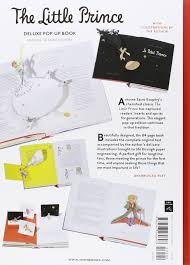 the little prince deluxe pop up book antoine de saint exup eacute ry the little prince deluxe pop up book antoine de saint exupeacutery 9780547260693 com books