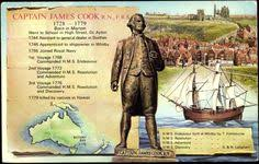 「1770, james cook landed in australia at botany bay, ad declared the land of england」の画像検索結果
