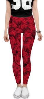 <b>Леггинсы Roses</b> #1876809 – заказать <b>леггинсы</b> с принтами в ...