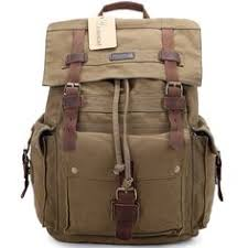 Chic <b>New Korean</b> College Style Canvas <b>Travel Backpack</b> For Men ...