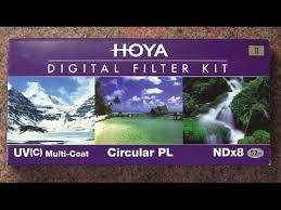 Распаковака Набора <b>светофильтров Hoya</b> 52 мм - YouTube