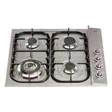 Gas Stainless Steel Cooktop Ilve H3 Series Gas Stainless Steel Cooktop H360 C 8appliances