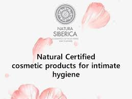 <b>Natural</b> Certified cosmetic products for <b>intimate hygiene</b>