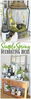 Spring Decorating Quick And Easy Spring Decorating Ideas Clean And Scentsible