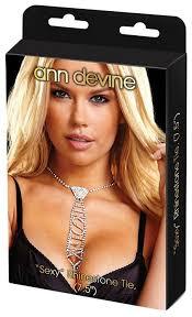 Купить <b>Ann</b> Devine Галстук из <b>кристаллов</b> Sexy (серебристый ...