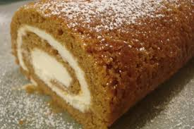 Image result for pumpkin pie and pumpkin roll