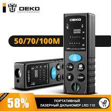 <b>Дальномер</b> лазерный <b>DEKO LRD110</b>-<b>50m 065-0205</b>, цена 1 490 ...