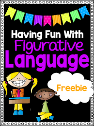 figurative language worksheets definition examples figurative language mini unit