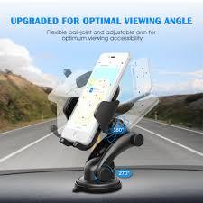 Mpow MCM12 <b>Universal</b> Dashboard GPS <b>Car Mount Adjustable</b> ...