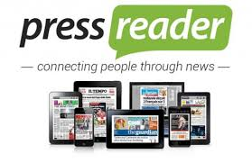 Use Pressreader to view newspaper articles from around the world