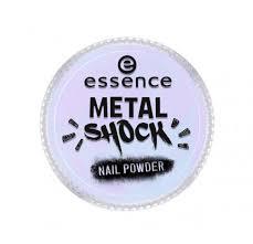 <b>Эффектная пудра для</b> ногтей - Metal Shock Nail Powder - купить в ...