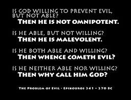 the problem of evil and religion the problem of evil