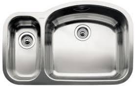 undermount kitchen sink stainless steel: blanco  blancowave    bowl undermount kitchen sink stainless steel