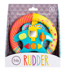 Электронный <b>руль Happy</b> Baby «<b>Rudder</b>» — Автодети