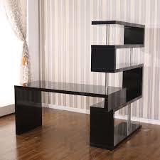 home office black desk picture of rotating home office corner desk and shelf combo black black home office desk