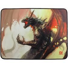 Игровой <b>коврик</b> для мыши <b>Defender Dragon</b> Rage M 360x270x3мм ...