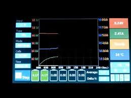 Меню универсального <b>зарядного устройства iMaxRC</b> X200 ...