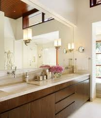 wall mounted mirrors bathroom