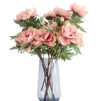 Fabric Peony <b>Flowers</b> UK
