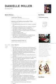 substitute teacher resume samples   visualcv resume samples databasesubstitute teacher resume samples