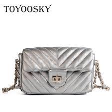 <b>TOYOOSKY Luxury Handbag</b> Quilted Plaid Women Messenger Bag ...