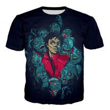 New Fashion <b>Pop Singer</b> Michael Jackson And Skulls T Shirt <b>3D</b> ...