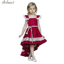 ARLONEET Baby <b>Girl Dresses Bridesmaid Pageant</b> Gown Birthday ...